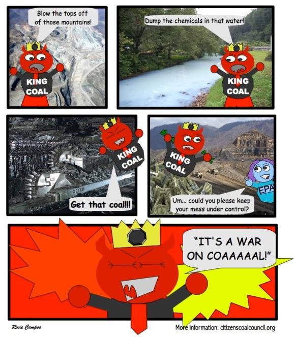 angry king coal